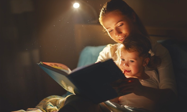 Tips to help your child get a good night's sleep during a difficult separation or divorce.