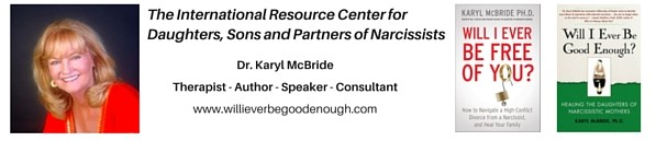Dr. Karyl McBride discusses the affect of raising children with a narcissist in this interview.