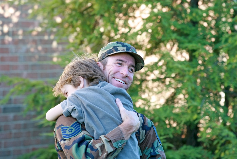 When a parent serves in the military, their whole family in affected by their service.