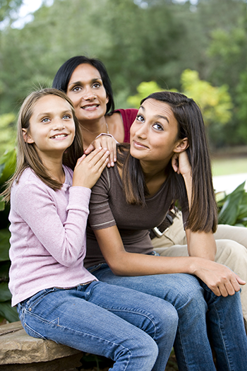 Celebrating your blended family can have a positive effect on your children.