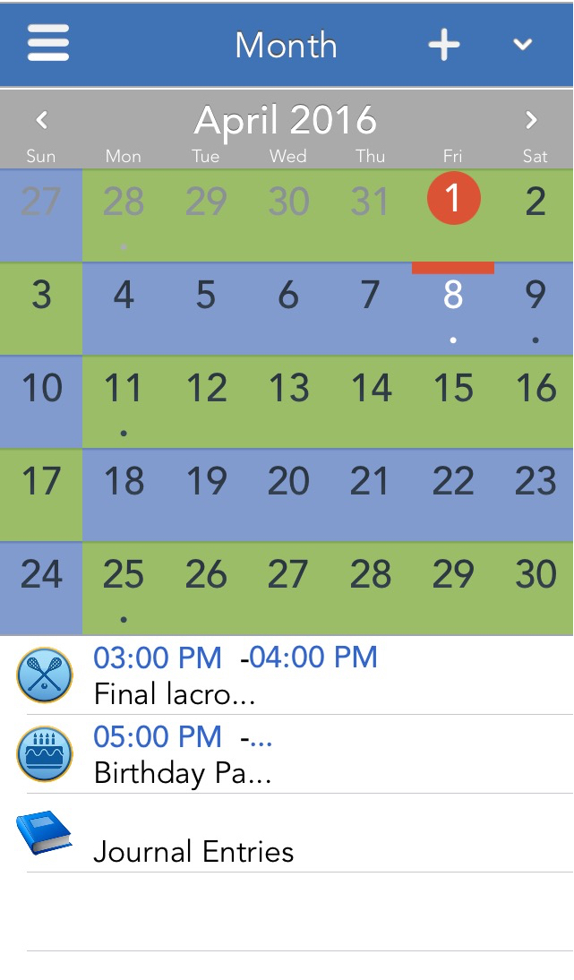shared family custody schedules and parenting time calendars are easy to setup and share